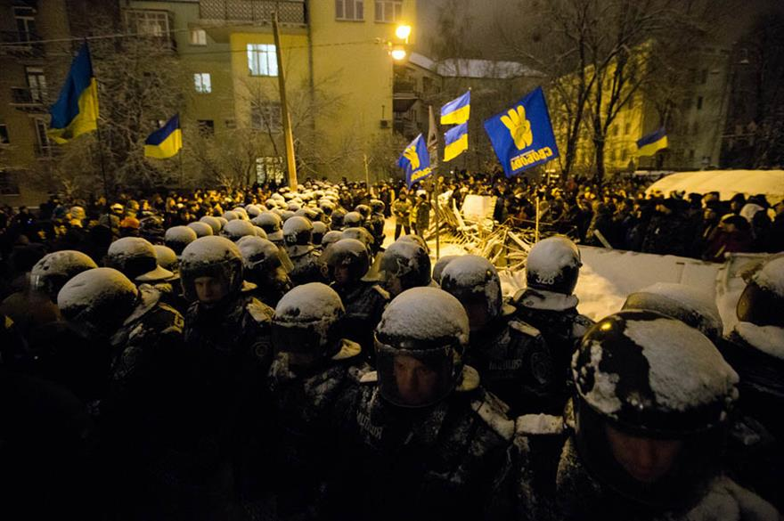 Protests in Kiev, Ukraine (maksymenko.com.ua)