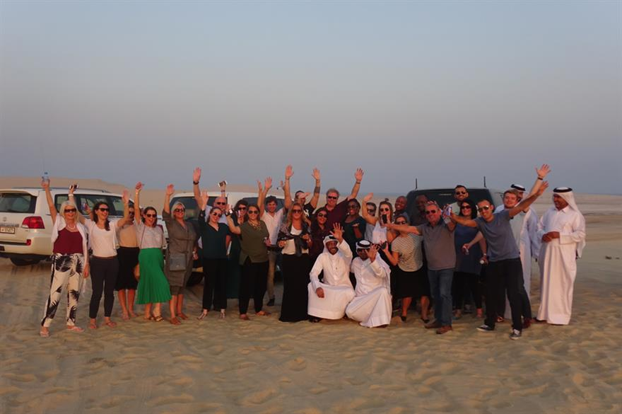 In pictures: Complete Qatar fam trip