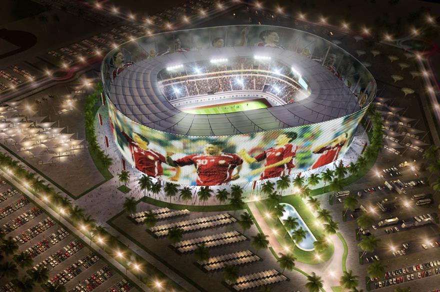 Qatar 2022 World Cup Al Rayyan stadium (artist's impression)