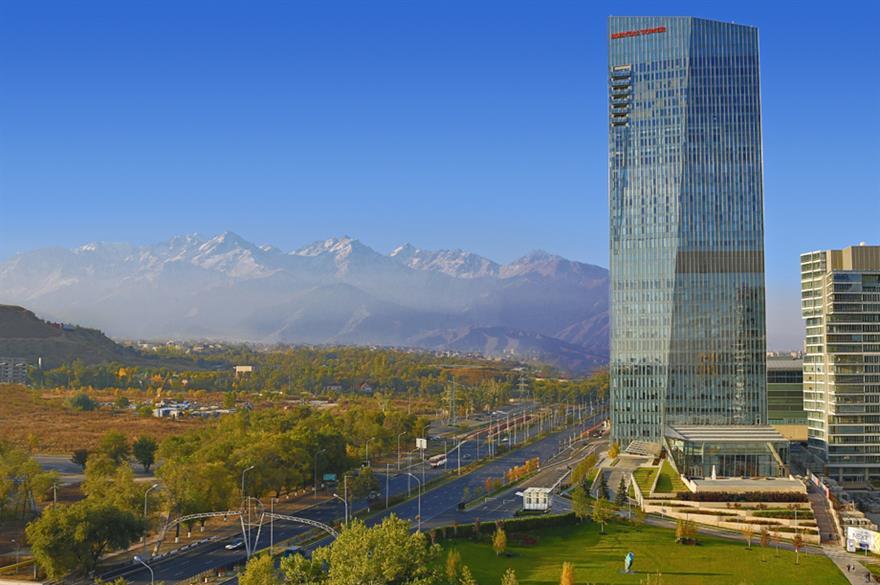 The Ritz-Carlton in Almaty is the group's first hotel in Kazakhstan