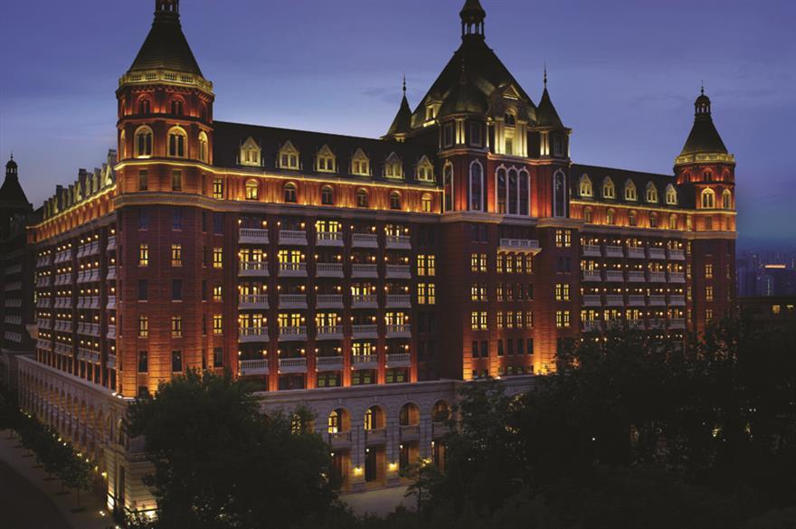 Ritz-Carlton has opened a hotel in Tianjin, China