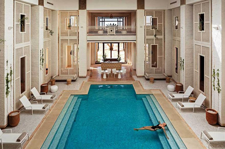 Three of the best...urban, cultural and luxury hotels in Marrakech
