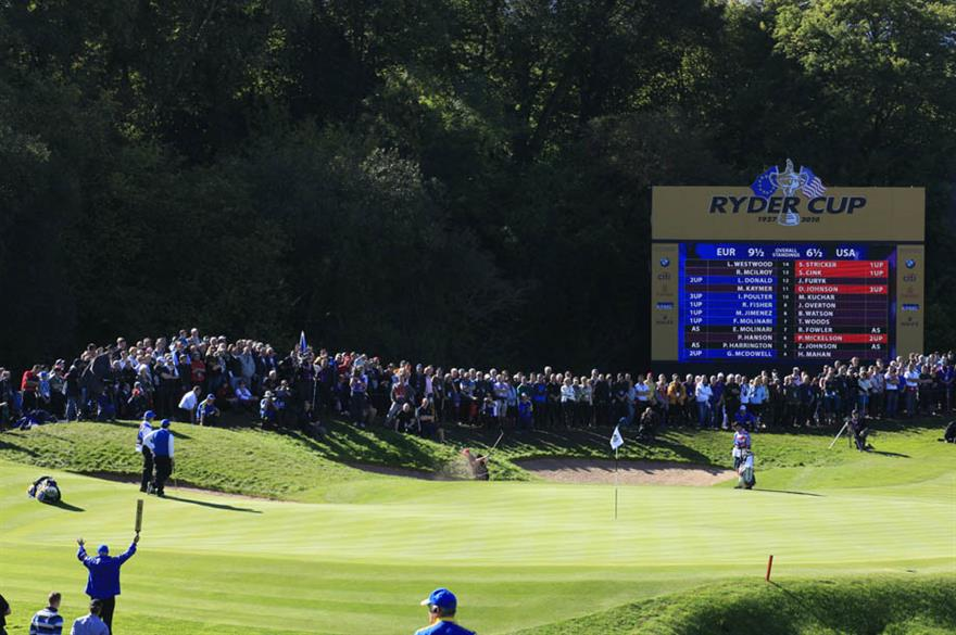 Ryder Cup appoints Cavendish Hospitality