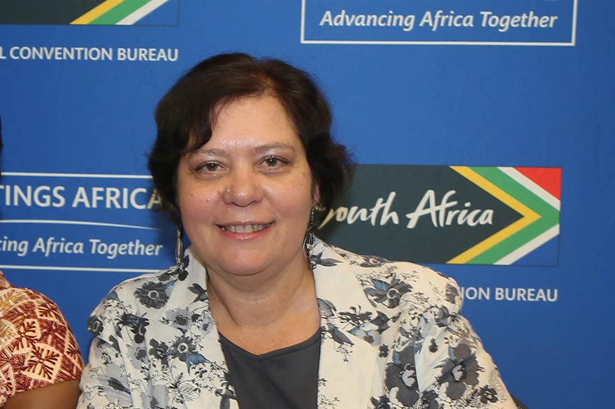South Africa National Convention Bureau's Amanda Kotze-Nhlapo