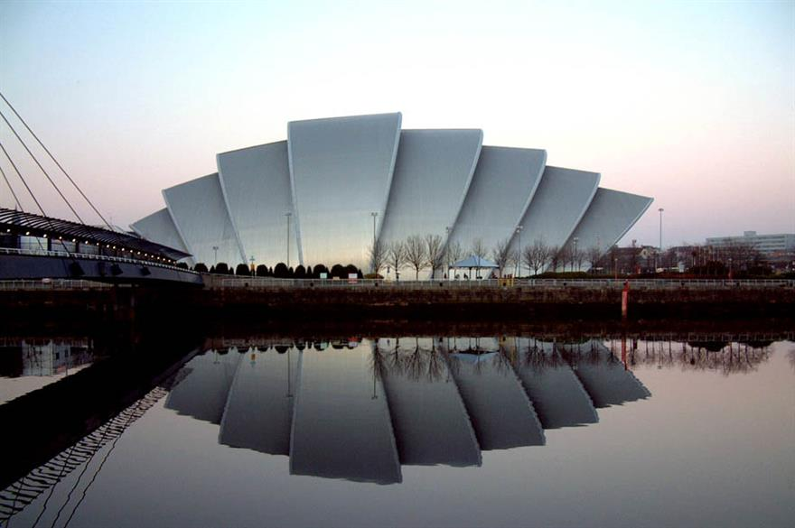 The Glasgow SECC is hosting the Business Tourism Scotland conference