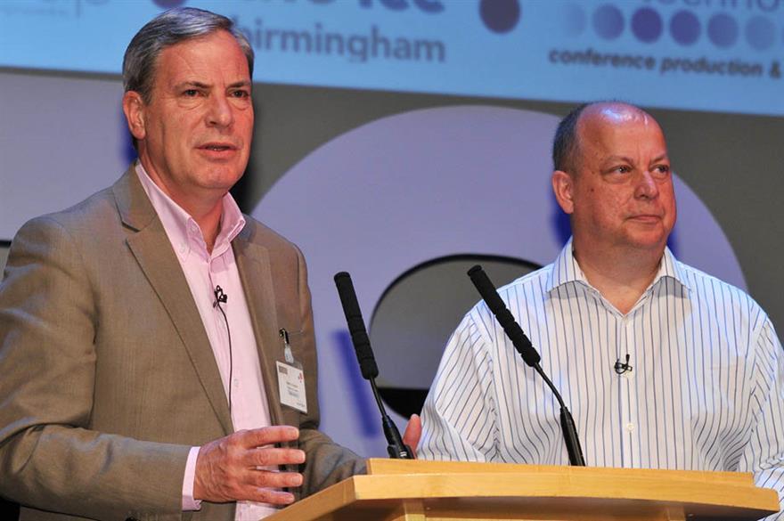 Simon Hughes and Dale Parmenter, Eventia-IVCA