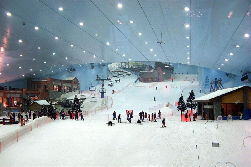 London's new £200m snow dome will be a similar size to Ski Dubai