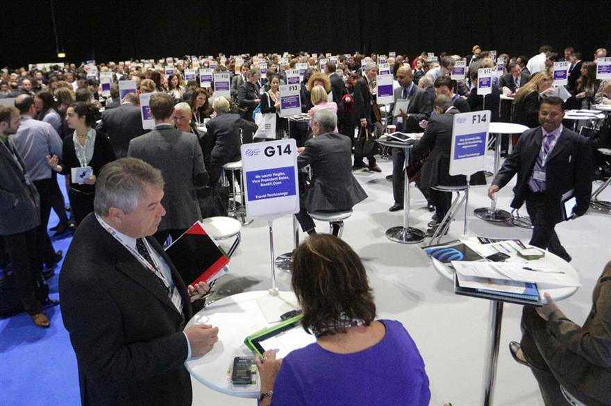 Speed networking event at World Travel Market 2013
