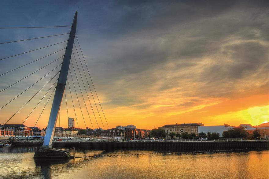 Swansea Millennium Bridge (©istockphotos)