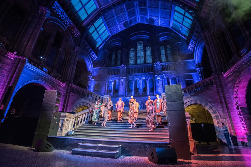 The Lion King at the Natural History Museum (©Leigh Quinnell)