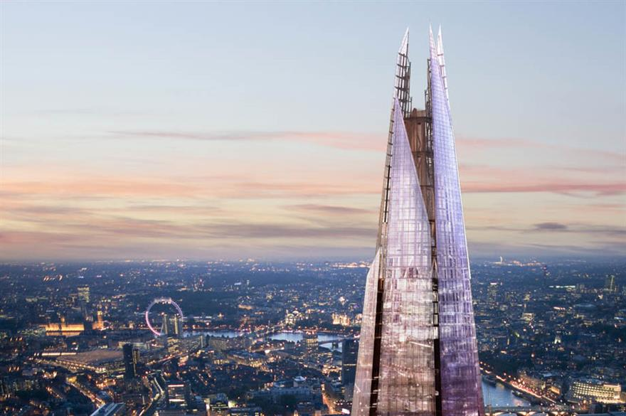 The Shangri-La at The Shard has been beset with delays