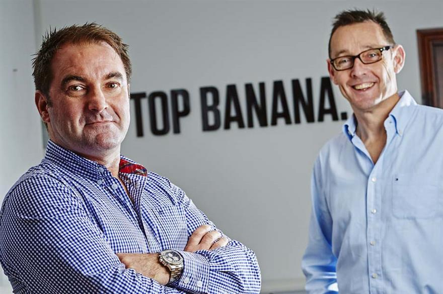 Top Banana rebrands