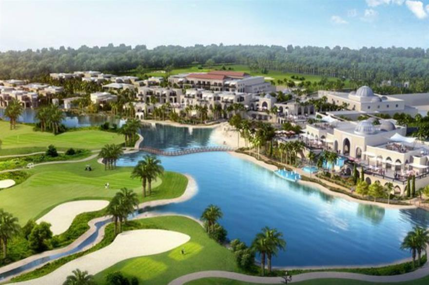 Trump Golf Course in Dubai