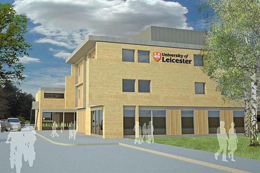 University of Leicester opens £17.5m conference centre