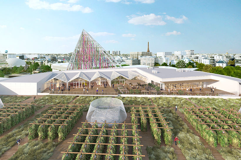 Urban farm 2020 (Copyright: Valode et Pistre Architectes)