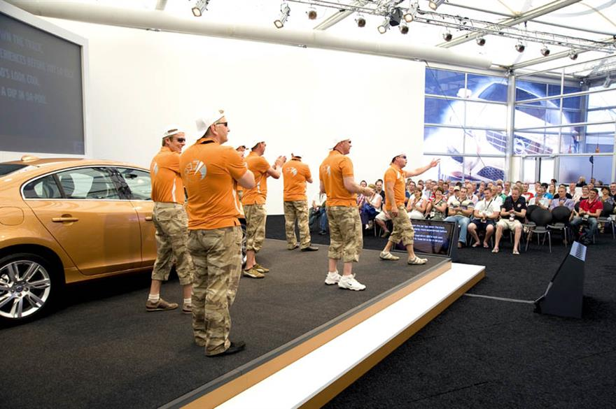 Volvo's award-winning S60 launch in 2010 organised by Line Up