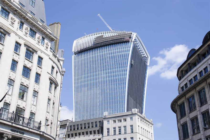 "The ""Walkie Talkie"" building will offer a new unusual event space for planners"