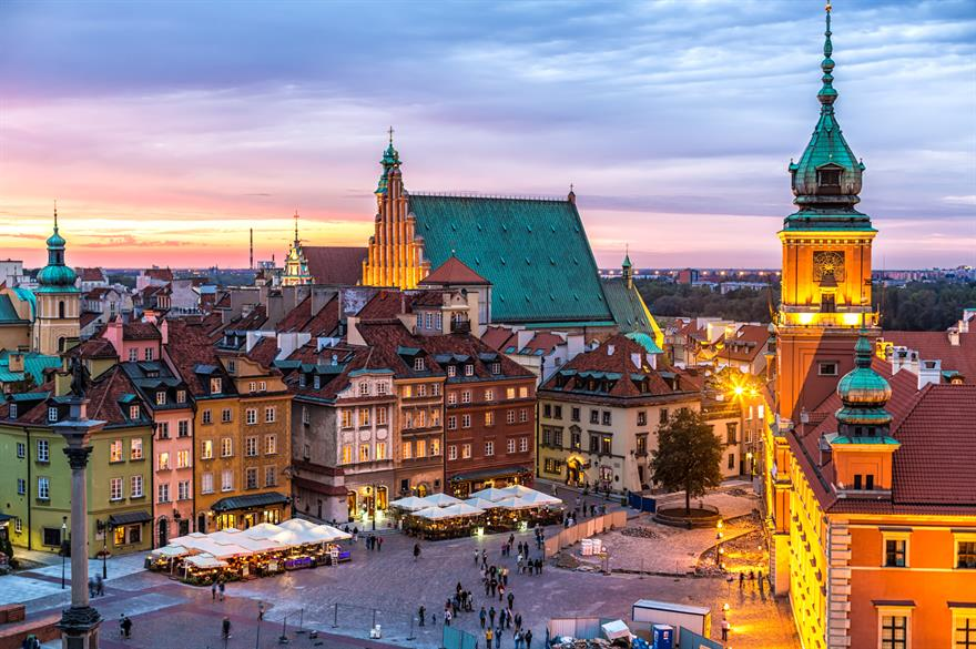 Warsaw's Old Town (Image credit: iStock)