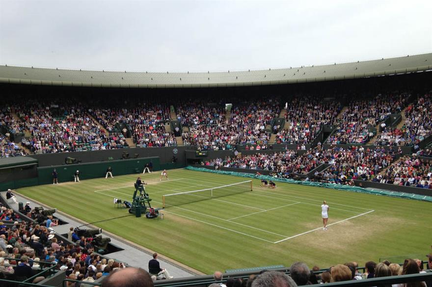 RPMC will support Aegon's hospitality requirements for Wimbledon