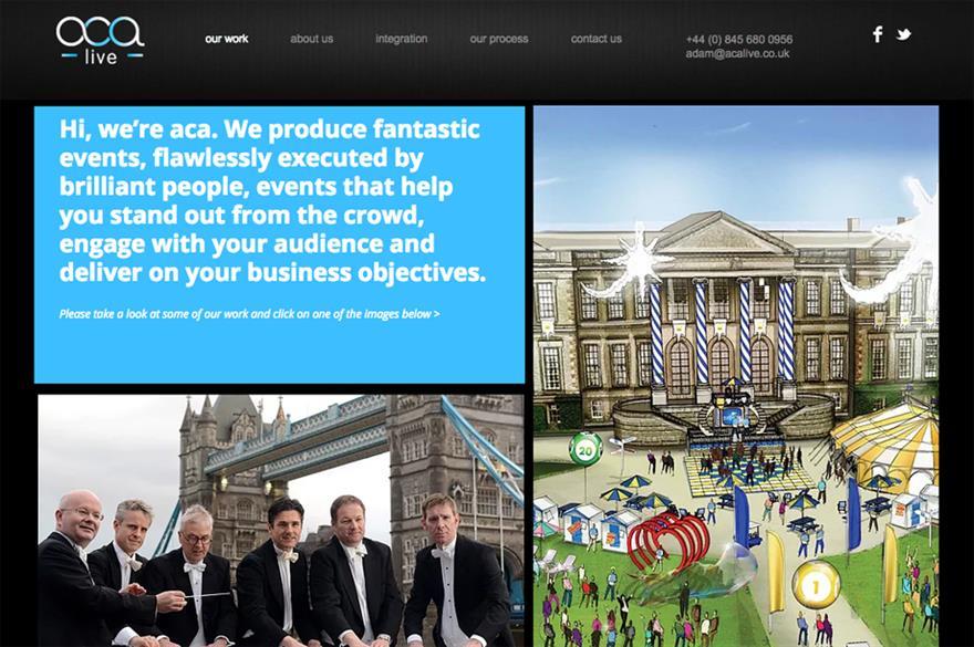 Aca live website