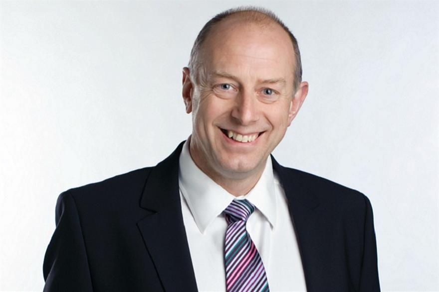 Keith Daniell, managing director of The Media Group