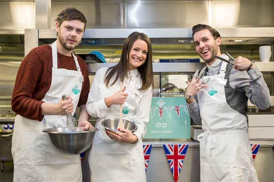 ExCel London Great Agency Bake Off winners drp