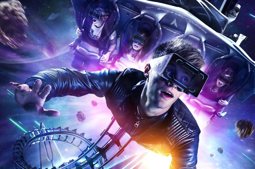 Alton Towers' virtual reality experience