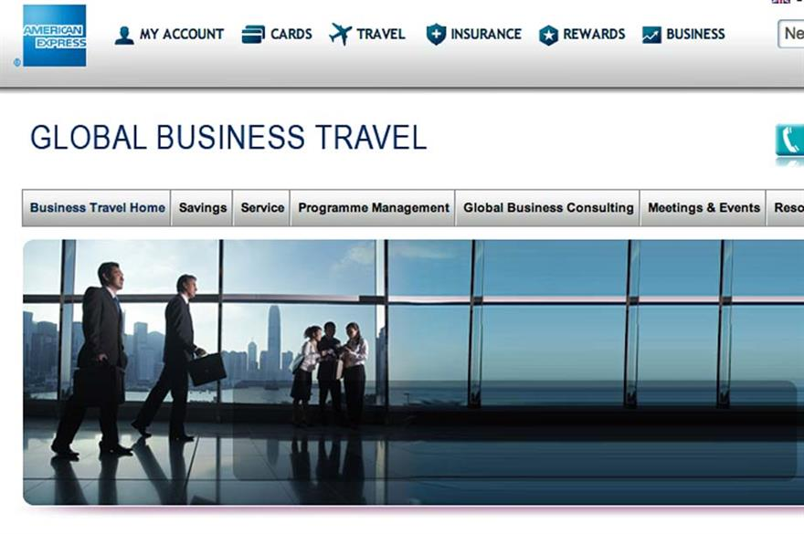American Express sells 50% of business travel division