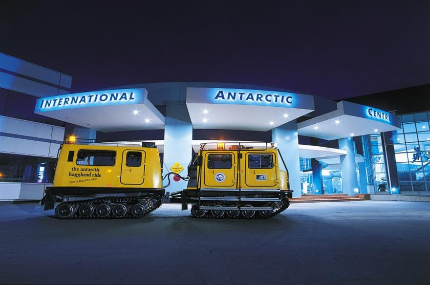 The International Antarctic Centre in Christchurch