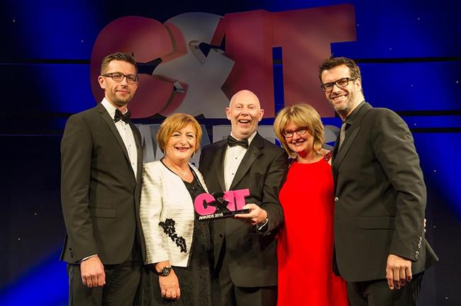 Ashfield Meetings & Events win the Agency of the Year award