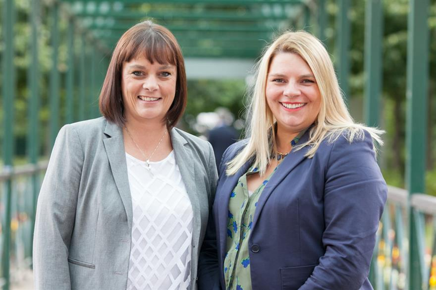 Nicola Burns and Laura Brown of Ashfield Meetings and Events