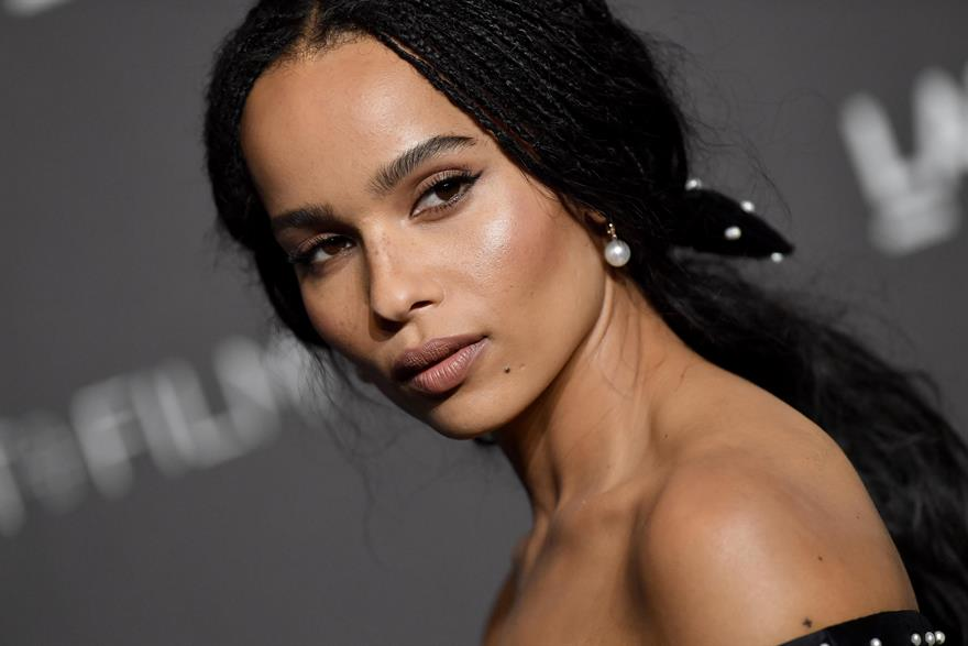Zoe Kravitz featured on a Super Bowl advert.