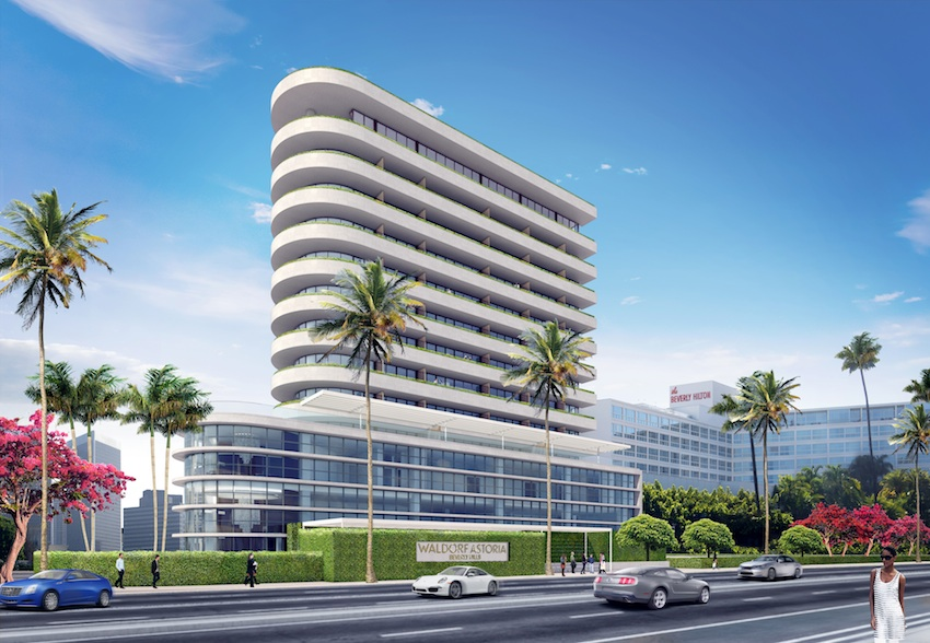 The new Waldorf Astoria Beverly Hills will open in 2017