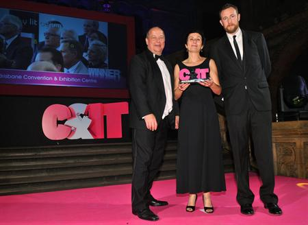 Last year's C&IT Awards winners on stage
