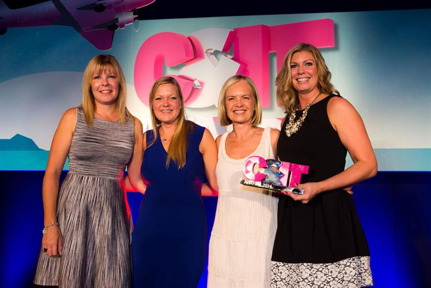 Mariella Frostrup handed out the awards to our deserving winners at The C&IT Awards