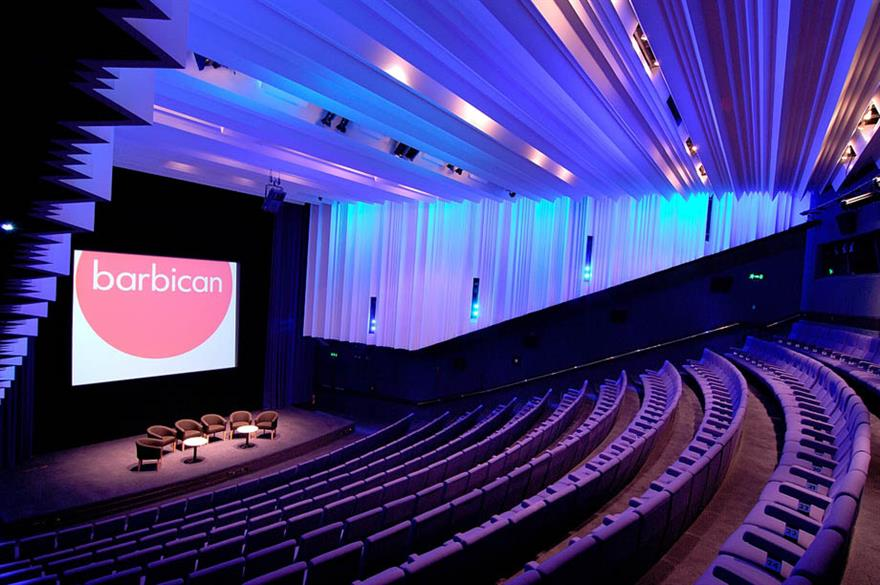 Barbican receives £1m of event enquires