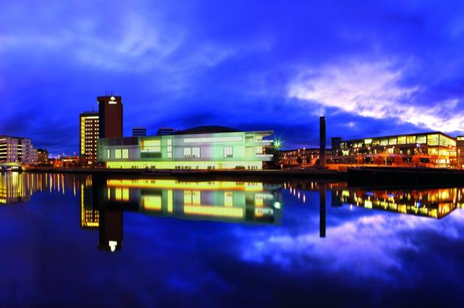 The Belfast Waterfront Conference and Exhibition centre is undergoing a multi-million pound expansion