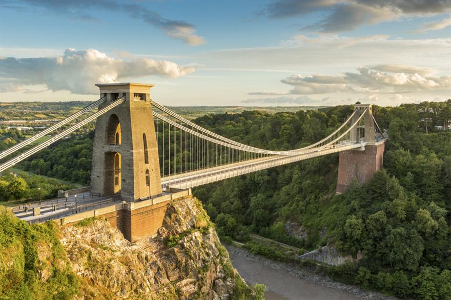 Clifton Suspension Bridge, Bristol (©iStockphoto.com)