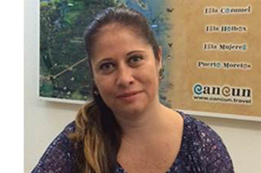 Rocío González Jonguitud of Cancun Convention & Visitors Bureau