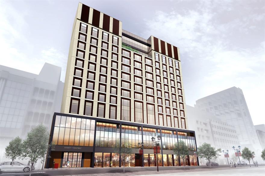 The Hyatt Centric Ginza Tokyo