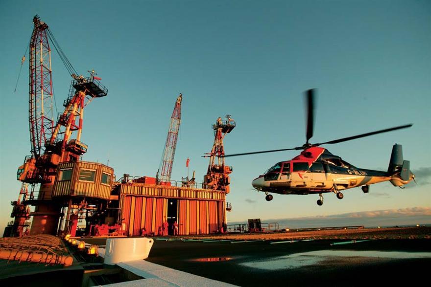 Centrica Energy's Morecambe Bay offshore platform