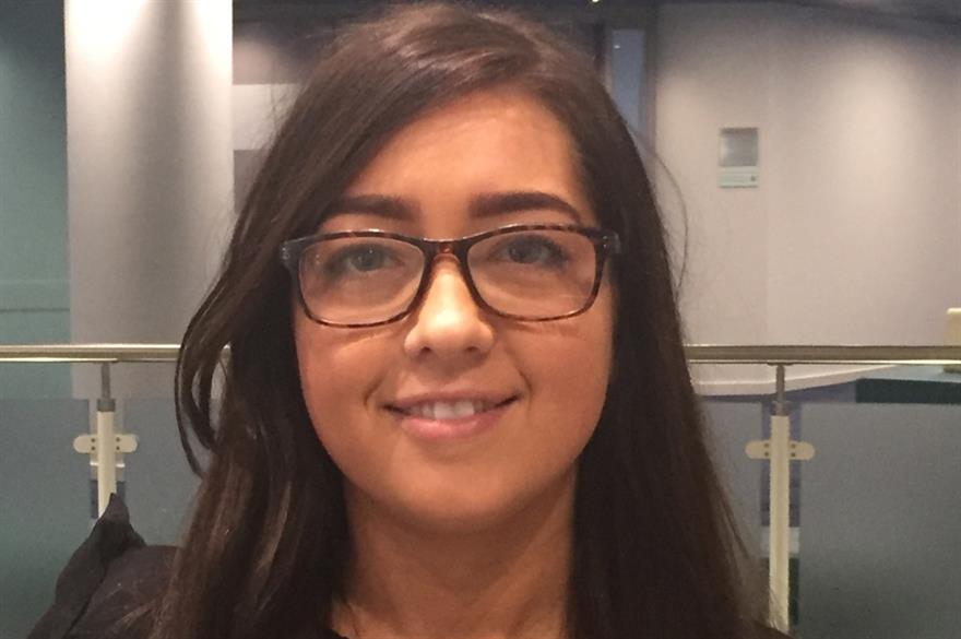 Charlotte Reynolds, new events assistant and administrator