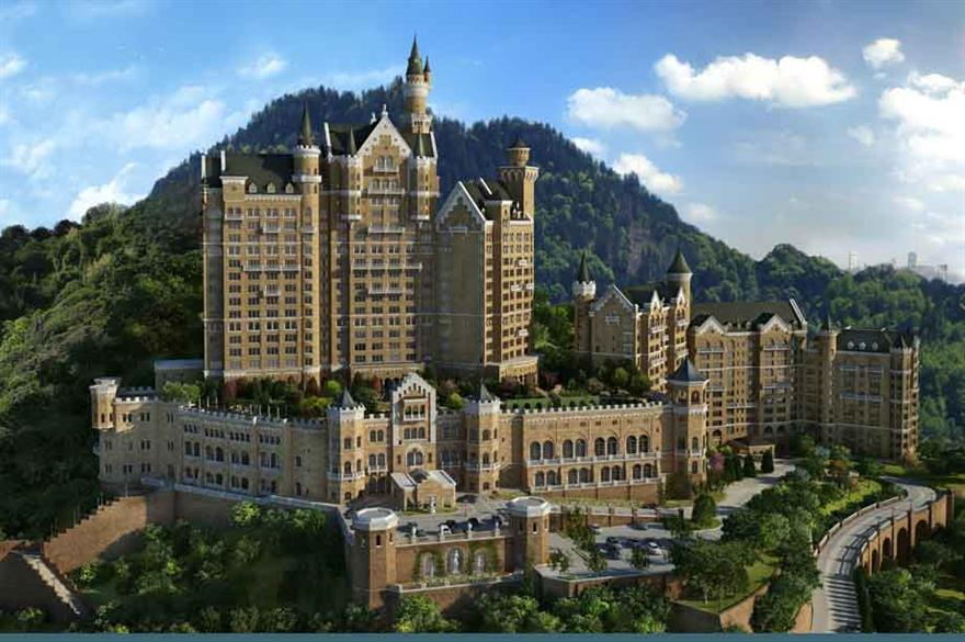 Starwood opens The Castle Hotel, China