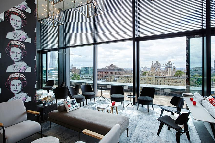 Venue of the Week: CitizenM Hotel Tower of London