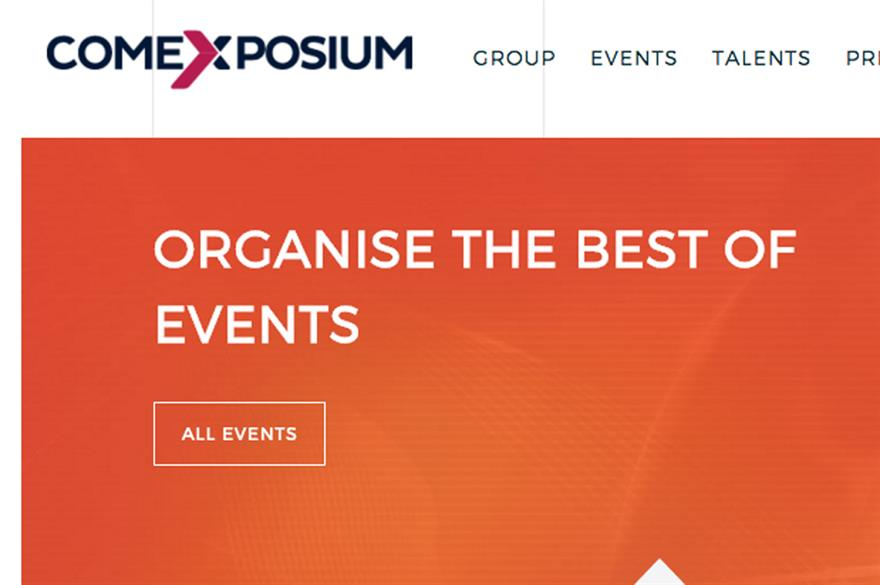 Comexposium website