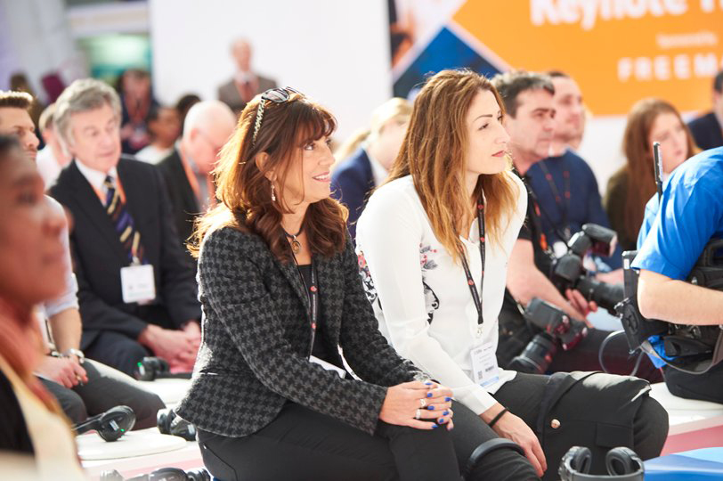 Confex numbers were down amid bad weather. Credit: @olympia_london