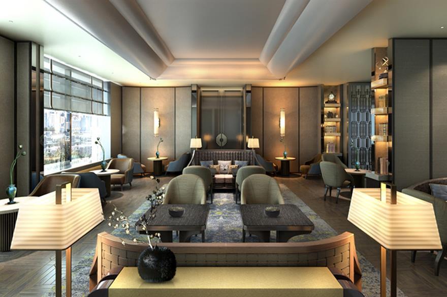 Conrad Pune executive lounge