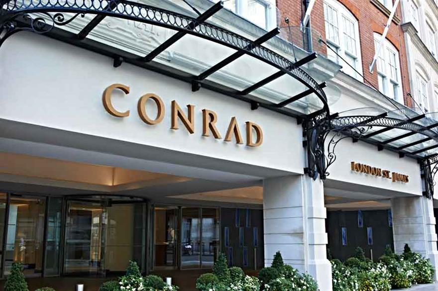 Conrad London St James hotel opens