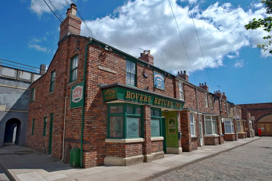 Coronation Street set available for event hire