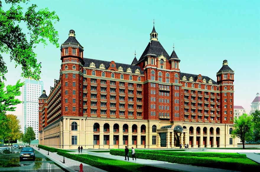 The Ritz-Carlton Hotel in Tianjin, China (artist impression)
